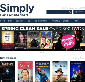 Simply Home Entertainment Cashback